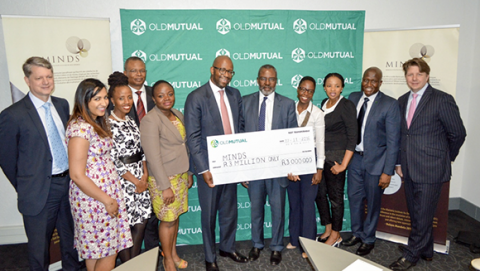 MINDS signs a partnership agreement with Old Mutual for the MINDS Scholarship Programme