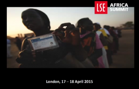 Founder of MINDS, Dr. Nkosana Moyo attended the 2015 London School of Economics (LSE) Africa Summit