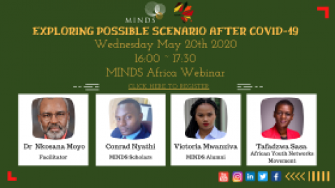MINDS' Youth Exploring Possible Scenario Post COVID-19 Webinar