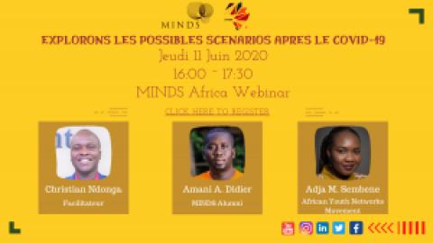 Webinar Avec La Jeunnesse de MINDS Qui Va Explorer Les Scénario Possible Apres COVID-19